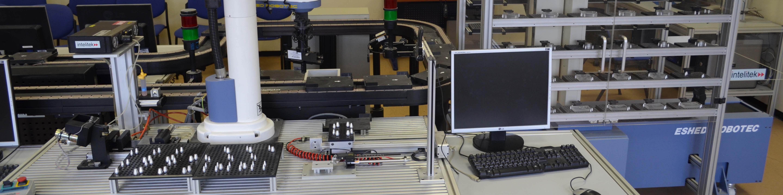 דגם של פס ייצור- המעבדה להנדסת תעשייה וניהול
