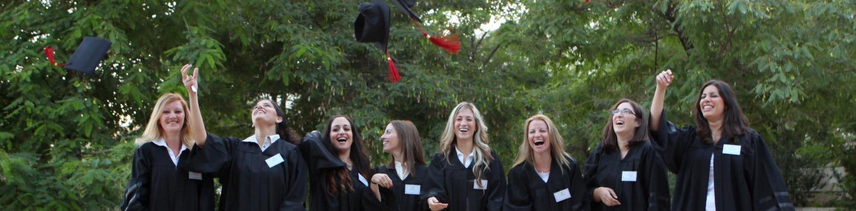 בוגרי מכללת עזריאלי בטקס הענקת תארים
