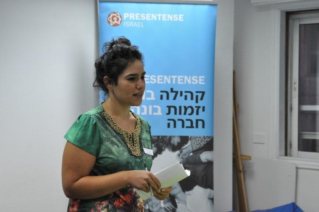 יערה כהן – מנהלת אקו סיסטם ירושלים presentense