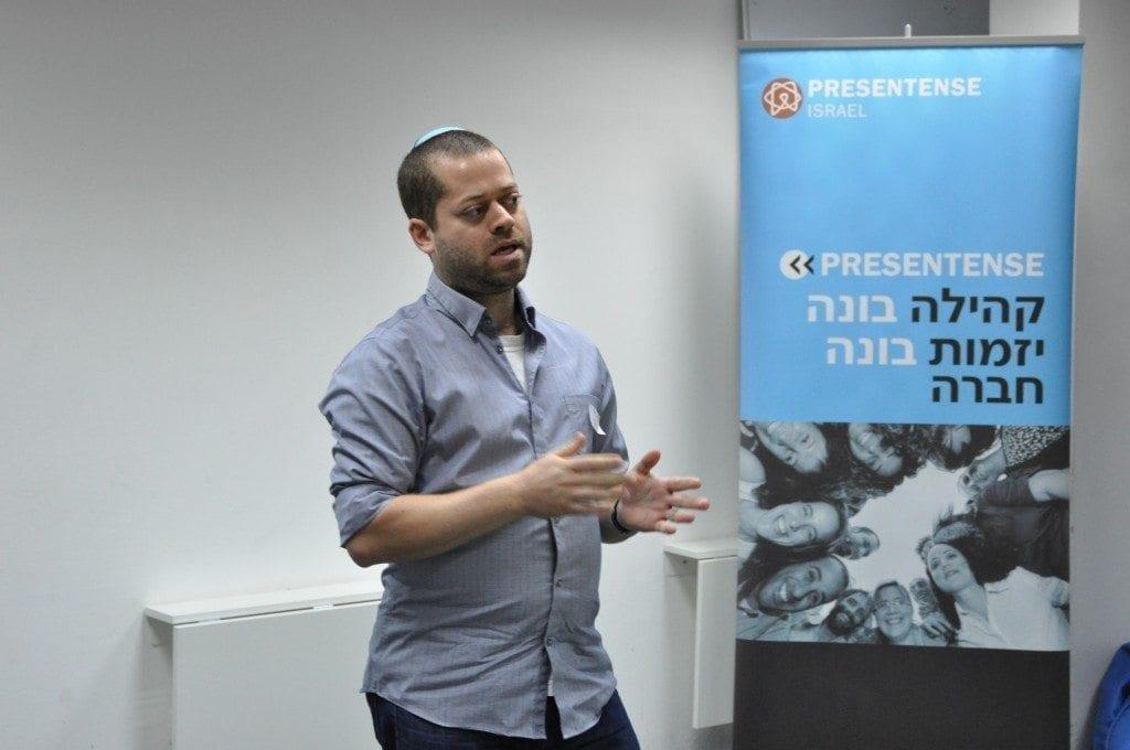 pitch של משתתף באירוע 10 היוזמות