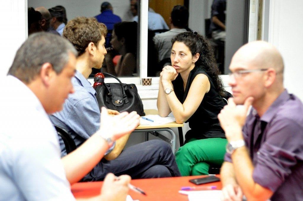 דנה סנדר-מולה – מייסדת גרעין צבר במנטורינג אישי למשתתף באירוע