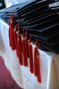 כובעים בטקס הענקת תארים 2014
