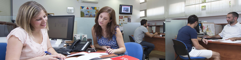 פגישות ייעוץ אקדמי אישי למתעניינים במרכז ייעוץ ורישום של עזריאלי - מכללה אקדמית להנדסה ירושלים